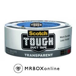 3M SCOTCH Duct Tapes Clear