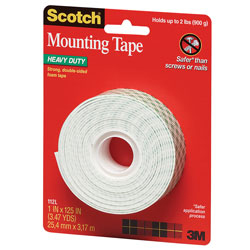3M Scotch Double Coated Tape 1x125