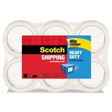 3M Scotch 2X55yds 6 Pack Heavy Duty Tapes