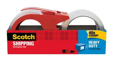 3M Scotch® Heavy Duty Shipping Tape 2x38yds