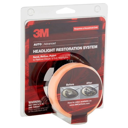 3M Auto Headlight Restoration Kit