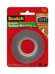 3M Permanent Outdoor Mounting Tape