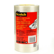 3M Scotch 1x60yds Filament Tape 9 PK