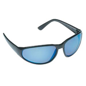 Ice Blue Mirrored Safety Glasses
