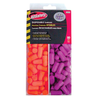 3M Disposable Multi Colored Earplugs