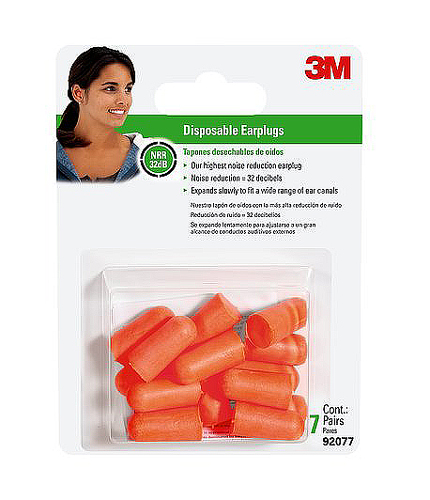3M Tekk Disposable Ear Plugs