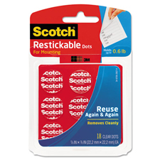 3M Scotch Restickable Dots