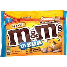 M&M Peanut with an order of $225