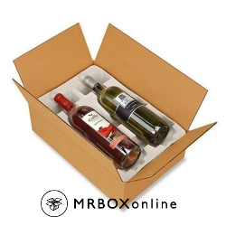 2 Bottle Pulp Wine Shipper