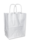 Cargo White Shopping Bags