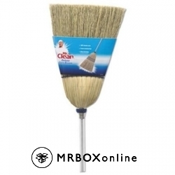 MR CLEAN METAL HANDLE CORN BROOM