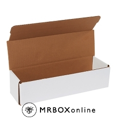 12x3.5x3 White Die Cut Mailer Boxes