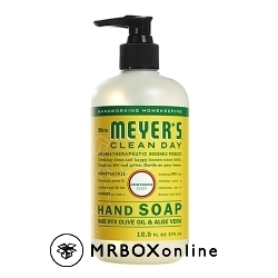 Mrs.Meyers Honeysuckle Hand Soap with an order of $475.00