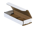 6.5x2.5x1 White Die Cut Mailer Boxes
