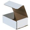6.5x4.5x2.5 White Die Cut Mailer Boxes