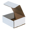 6.1875x5.375x2.5 White Die Cut Mailer Boxes
