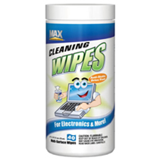 Max Professional Cleaning Wipes