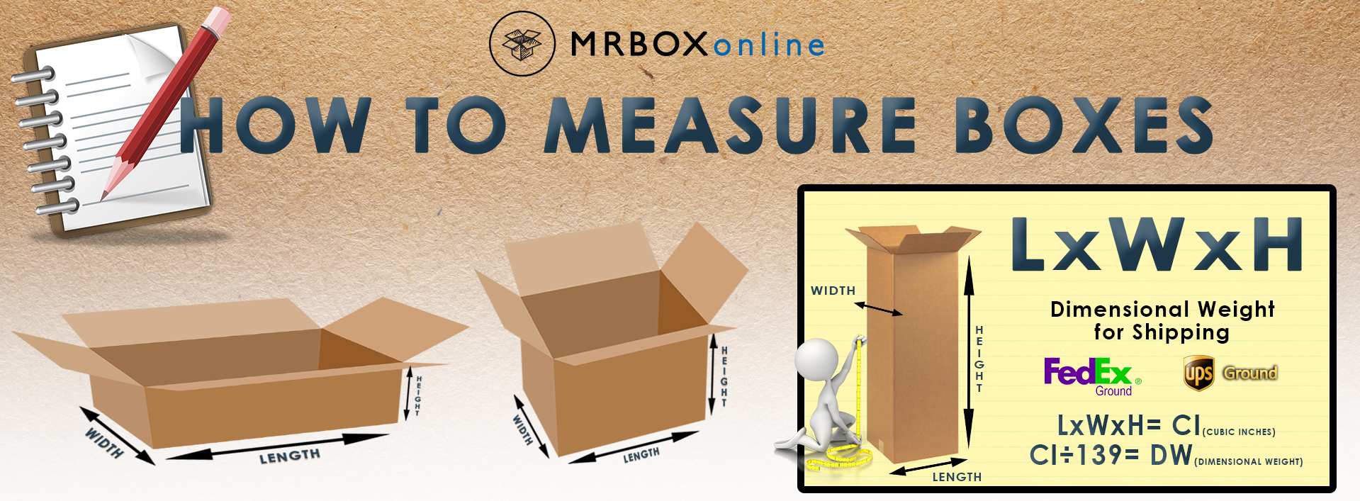 How to Measure a Box!