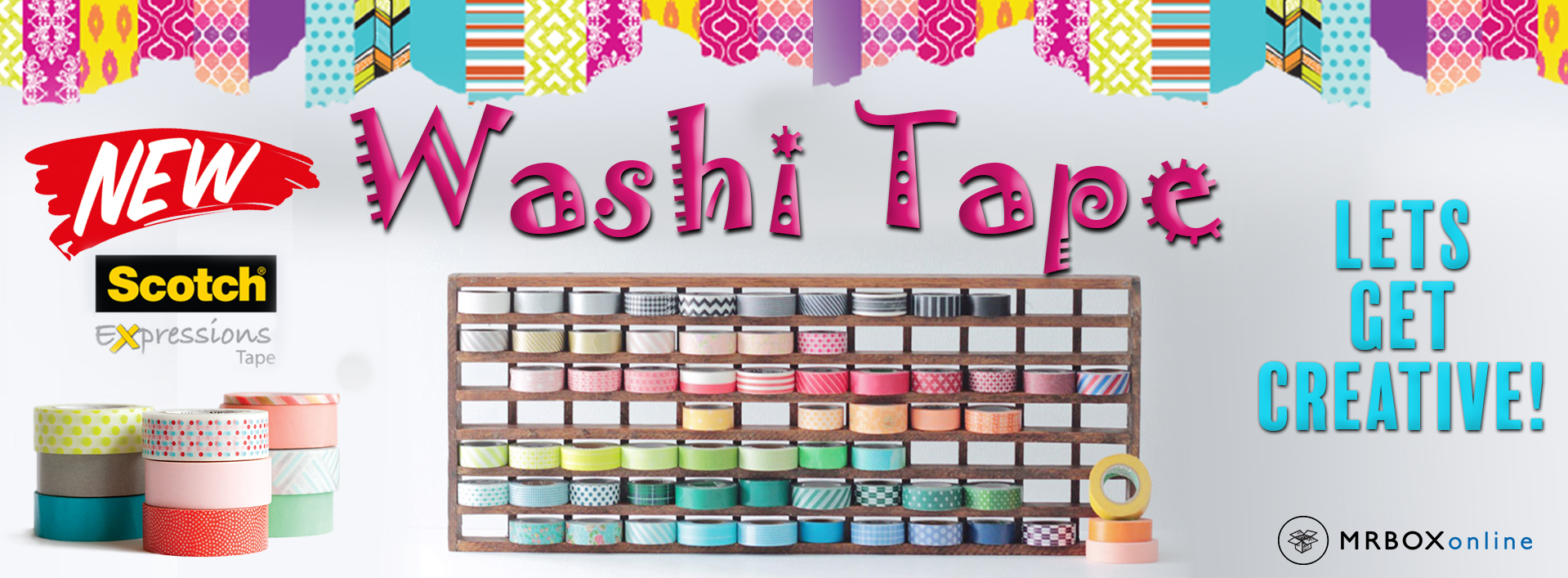 NEW Washi Tape!