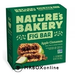 Nature's Apple Cinnamon Fig Bars $225 order