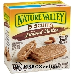 Nature Valley Almond Biscuits a $325 order