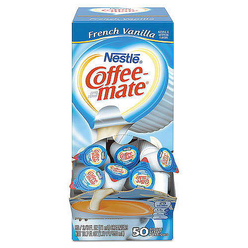 Coffee Creamer French Vanilla 50 per box