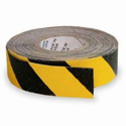 Non Skid 3x20yds Black Yellow