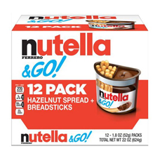 Free Gift:Nutella & Go! with an order of $325
