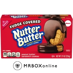 Nutter Butter Fudge Covered free with a $225 order
