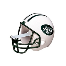 3M Scotch� Magic� Tape Dispenser New York Jets Football Helmet