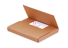 18x12x2 Kraft One Piece Folder Box
