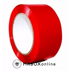 2x110yds Orange Plastic Box Tape