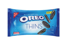 Oreo Thins with an order of $225.00