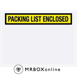 6.75x5 Packing List Enclosed Envelope