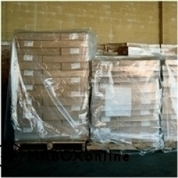 51x49x73 1.5 Mil Pallet Cover