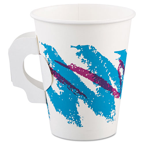 8 Ounce Paper Hot cup with handle