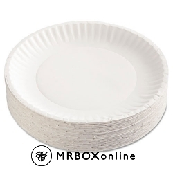 6 inch White Paper Plates