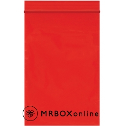 4x6 Reclosable Red Bag 2 Mil