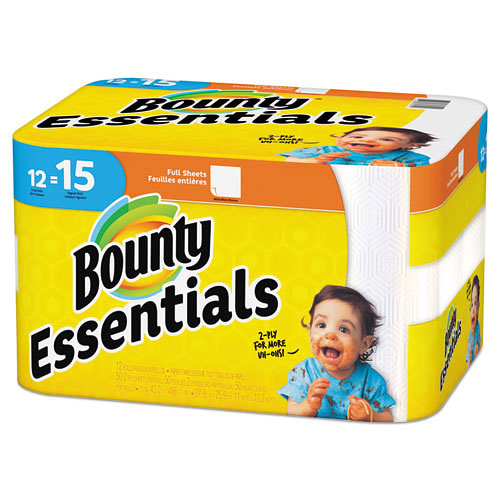Bounty Essentials Paper Towels 12 pack