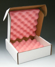 14x14x2.75 Foam Lined Die Cut Boxes