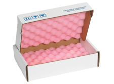 12x8x2.75 Anti Static Foam Lined Shipper Boxes