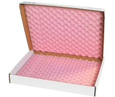 22x18x2.75 Anti Static Foam Lined Shipper Boxes
