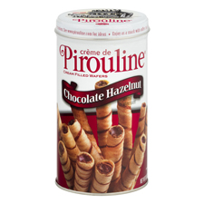 Pirouline Creme filled wafers with a $225 order