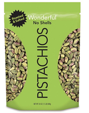 Wonderful No Shell Pistachios with an order of $1000