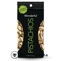 Pistachios with a $325 order