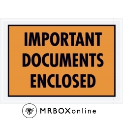 5.25x7.5 Important Documents Packing List