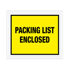 "10""x12\"" Yellow Packing List Enclosed Envelopes"