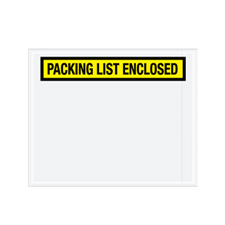 "10""x12"" Yellow Packing List Enclosed Envelope"