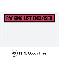 4.5x7.5 Packing List Enclosed Envelope