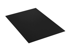 "40""x48\"" Black Plastic Sheets"
